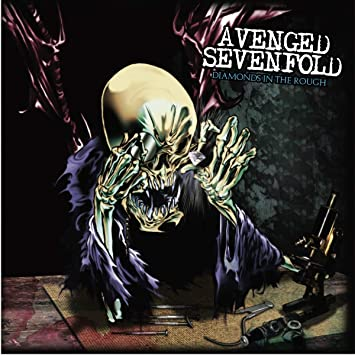 Avenged Sevenfold – Diamonds In The Rough (2LP Clear Colored Vinyl)